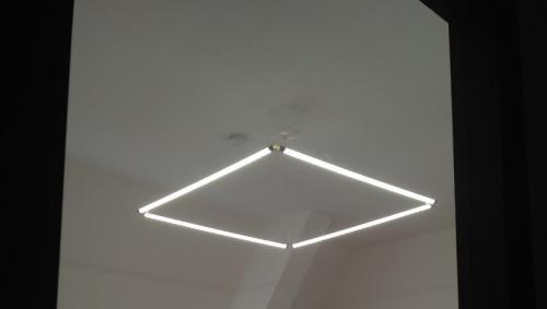 Освещение в офисе светильниками Пайтекс