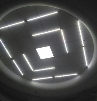 Освещение в ТЦ «Дарница»